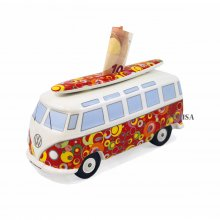 Spardose VW Bus mit Surfbrett 'Bubble'