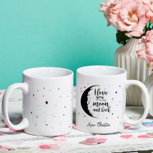 Tasse 'To The Moon' mit Wunschname