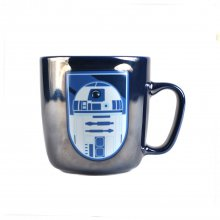 Becher 'R2D2', metallic