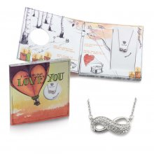 Geschenkset Kette & Sound-Karte 'I will always love you'