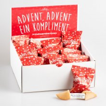 Komplimente-Keksbox 'Advent, Advent'