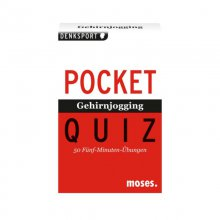Pocket Quiz 'Gehirnjogging'