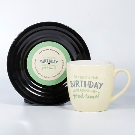 Tassen-Set Lyrical Mug 'Birthday'