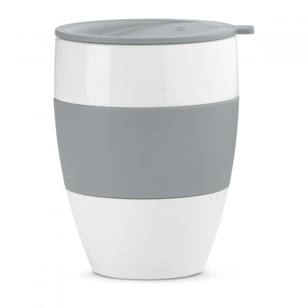 Koziol Coffee to go Becher Aroma solid cool grey