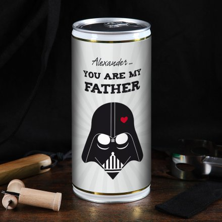 Personalisierbare 1L-Bierdose 'You are my Father'