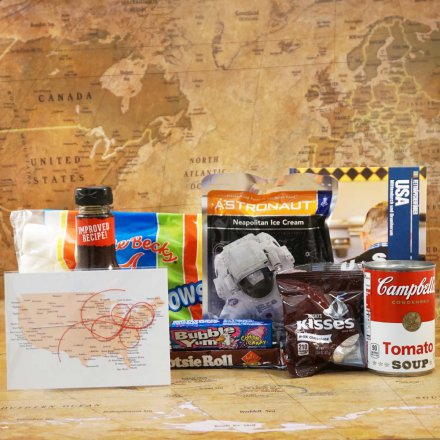 Cosmopol Geschenkbox 'American Way of Life'