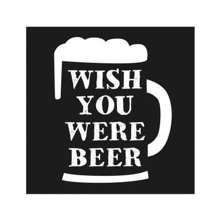 loopdsgn Magnet 'Wish you were Beer'