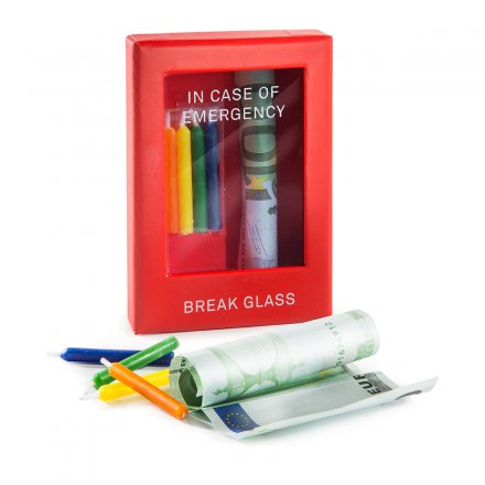 Geschenkbox 'Emergency Box Birthday'
