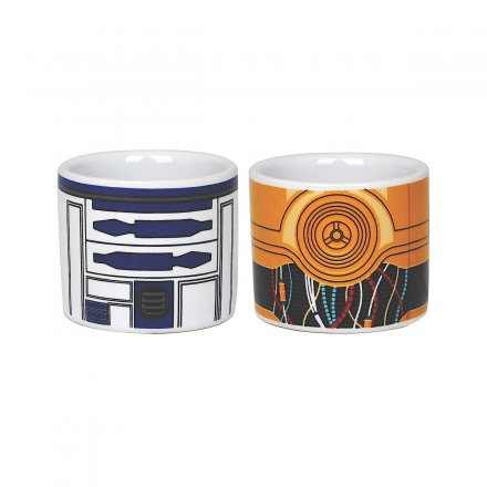Eierbecher 'Star Wars R2D2 & C3PO', 2er-Set