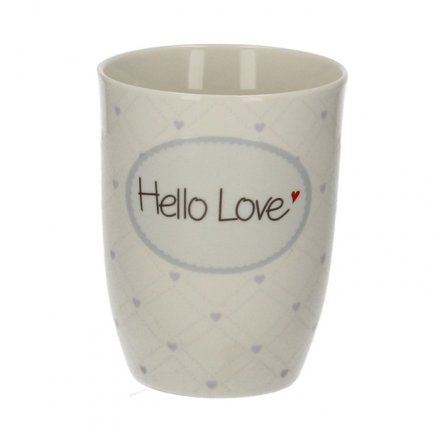 Henkelbecher 'Hello Love'
