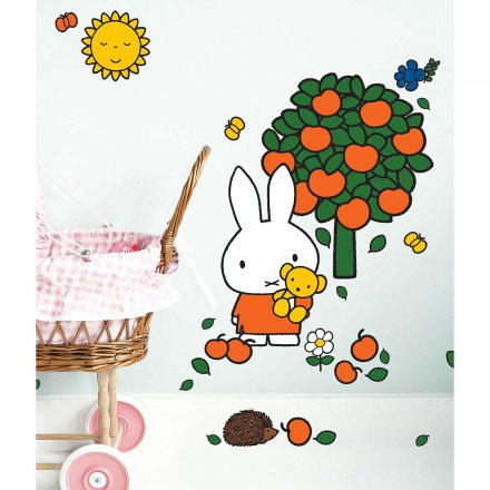 kek amsterdam miffy wandtattoo 39 apfelbaum 39 online kaufen online shop. Black Bedroom Furniture Sets. Home Design Ideas