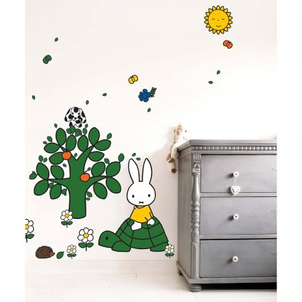 kek amsterdam miffy wandtattoo 39 schildkr te xl 39 online kaufen online shop. Black Bedroom Furniture Sets. Home Design Ideas