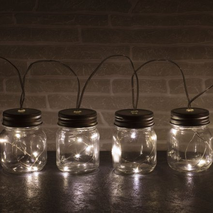 LED Lichterkette 'Jar String Lights'