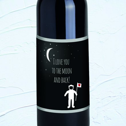 Bordeaux 'Love you to the moon'