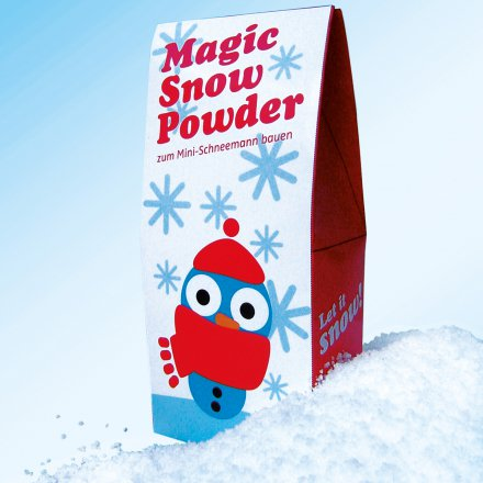 Instant Kunstschnee 'Magic Snow Powder'