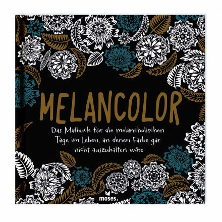 Malbuch Art Therapie Melancolor