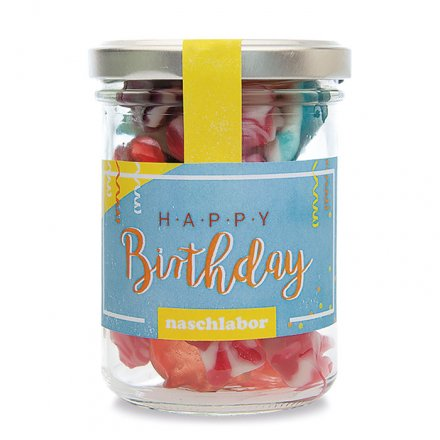 Fruchtgummis 'Happy Birthday'
