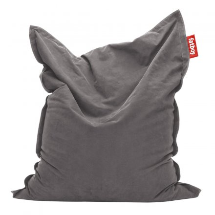 fatboy Sitzsack 'The Original - stonewashed' taupe