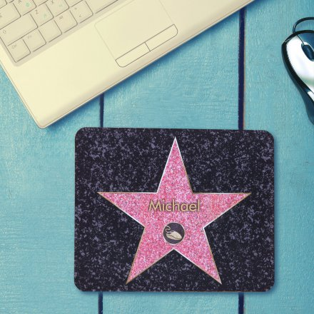 Personalisierbares Mousepad 'Walk of Fame'