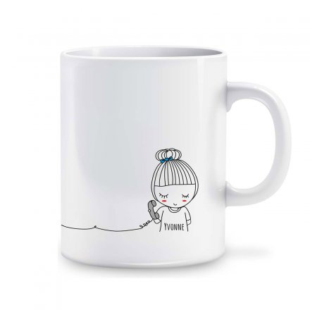Exklusive Personalisierbare Tasse - Long Distance rechts