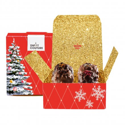 Sweet Couture Geschenk-Box 'Frohes Fest'