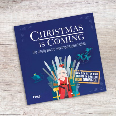 Weihnachtsbuch 'Christmas is coming'