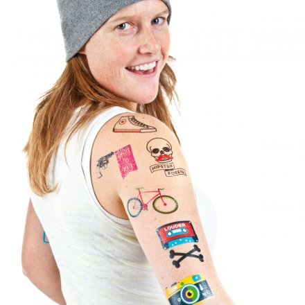 Donkey Products Style-Tattoos Hipster Foreva