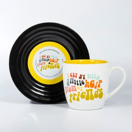Thumbs Up Tassen-Set Lyrical Mug 'Friends'