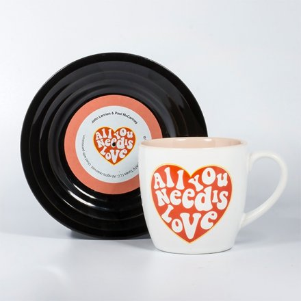Tassen-Set Lyrical Mug 'Love'