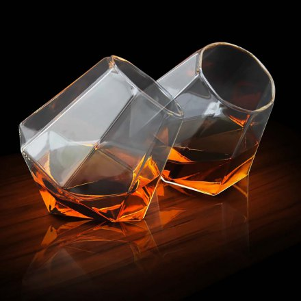 Whisky-Glas 'Diamond' 2er-Set