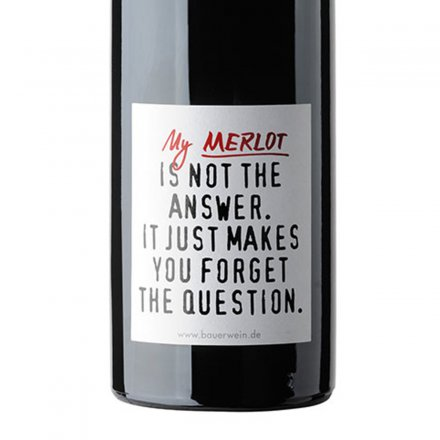 Rotwein Merlot 'Answer'