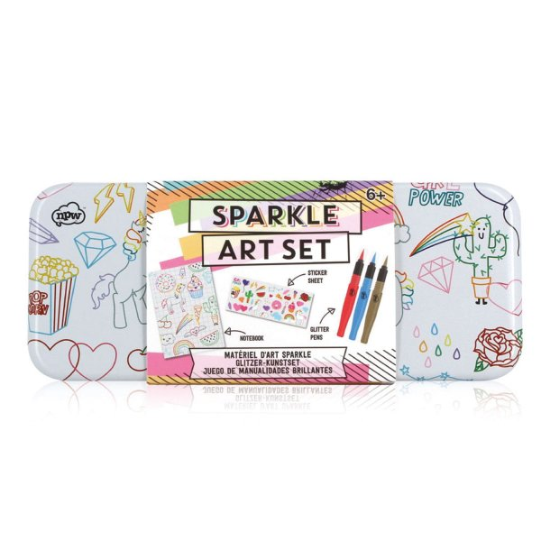 Kreativ-Set 'Sketch & Colour Sparkle Art'