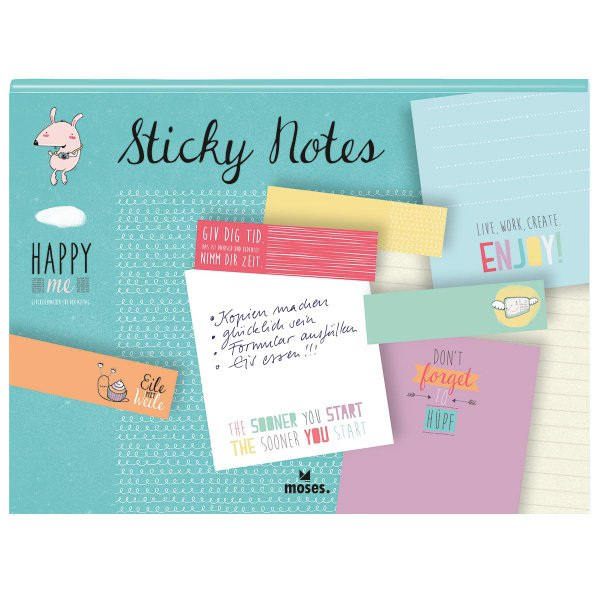 Haftmarker Sticky Notes 'Happy me'