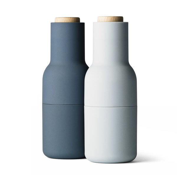 Pfeffer- & Salzmühle Bottle Grinder-Set small blue