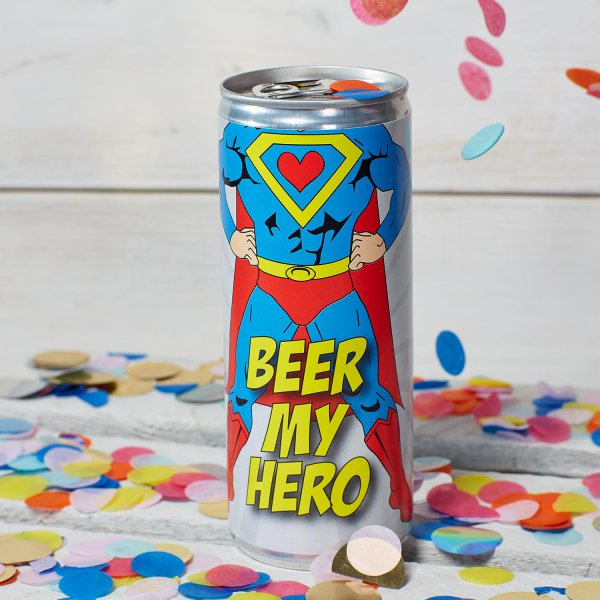 Bier 'Beer my hero'
