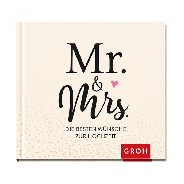Mini-Buch 'Mr. & Mrs.'