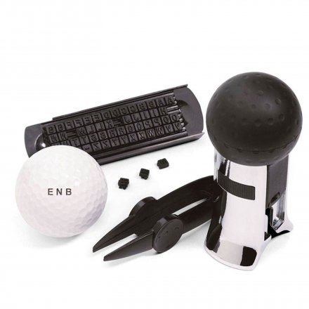 Golf Ball Stempel Set