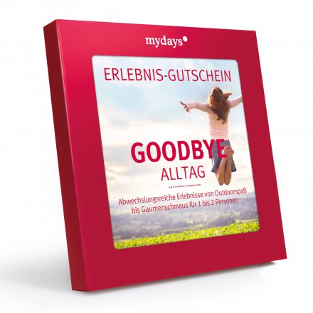 mydays 'Magic Box: Goodbye Alltag'