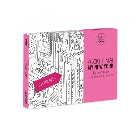 Pocket Map 'MY New York'