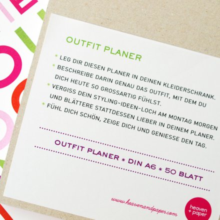 Outfit-Planer
