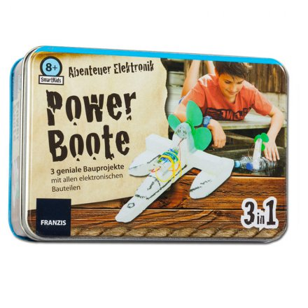 Smartkids Bauset: Powerboote