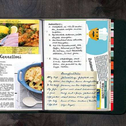Rezeptbuch 'Taste Book Scoop'