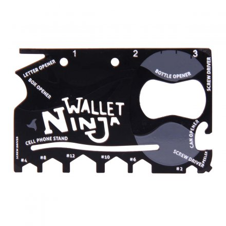 Multi-Tool 'Wallet Ninja - 18-in-1' Classic