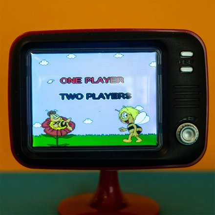 Retro Konsole Mini TV inkl. 2 Controller