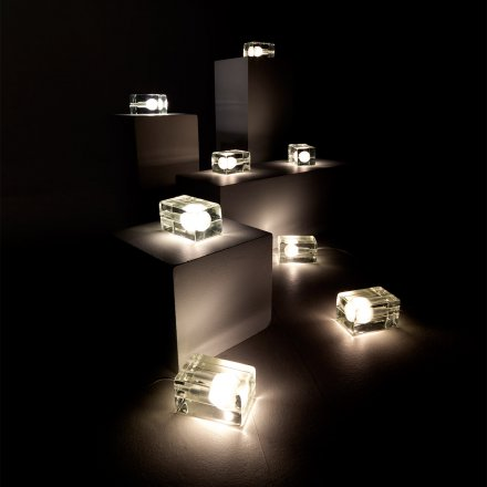Design-LED-Tischleuchte 'Block Lamp'