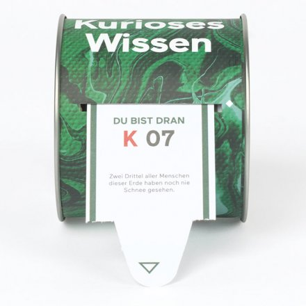 Ticket-Box 'Kurioses Wissen'