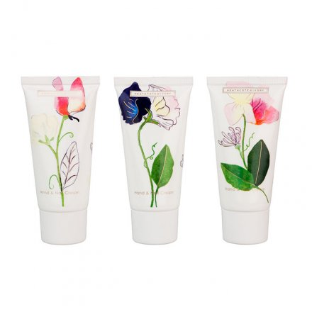 Hand- und Nagelcreme-Set 'Sweet Pea & Honeysuckle'