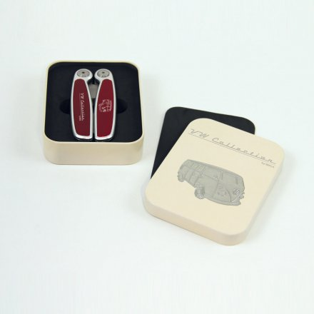 Multitool Taschenmesser 'VW Bus', rot