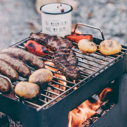 Grillrost 'BEER BOX'
