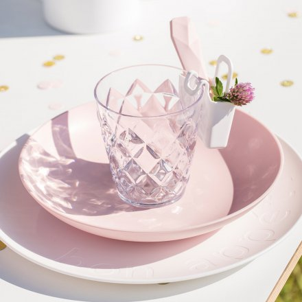 Becher Crystal S transparent klar